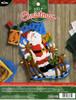 Plaid / Bucilla - Caroling Santa Stocking