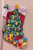 Plaid / Bucilla - Christmas Tree Suprise Stocking