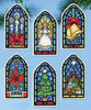 Design Works - Stained Glass Ornaments