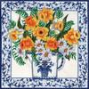 Candamar - Daffodils & Blue Delft Pillow / Picture