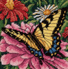 Dimensions Minis - Butterfly on Zinnia