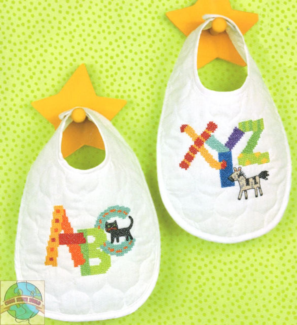 Dimensions Baby Hugs - Alphabet Bibs (2)