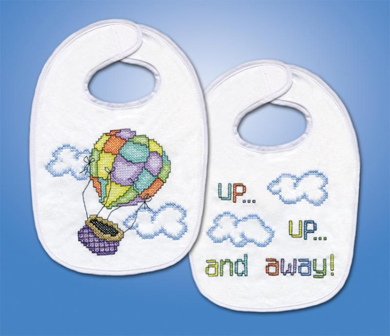 Design Works - Up,Up and Away Bibs (2)