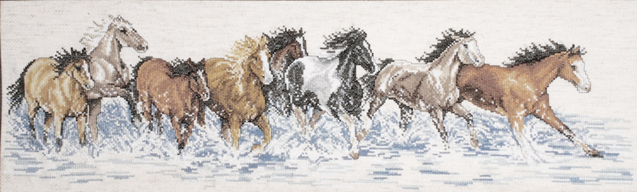 Design Works - Splashdown Horses