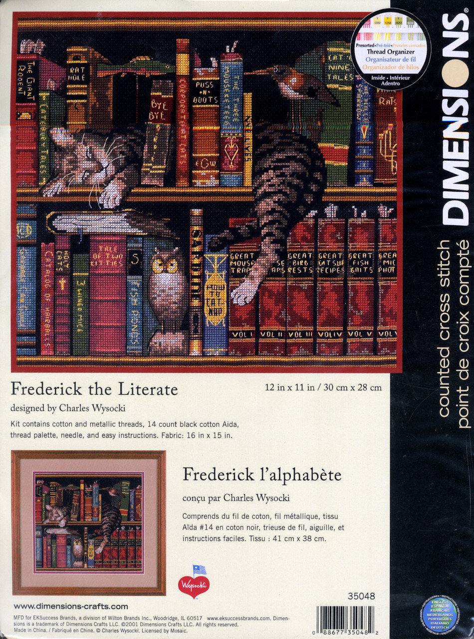 Dimensions - Frederick the Literate