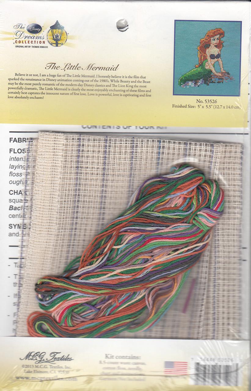 Disney - The Little Mermaid (Waste Canvas Kit)