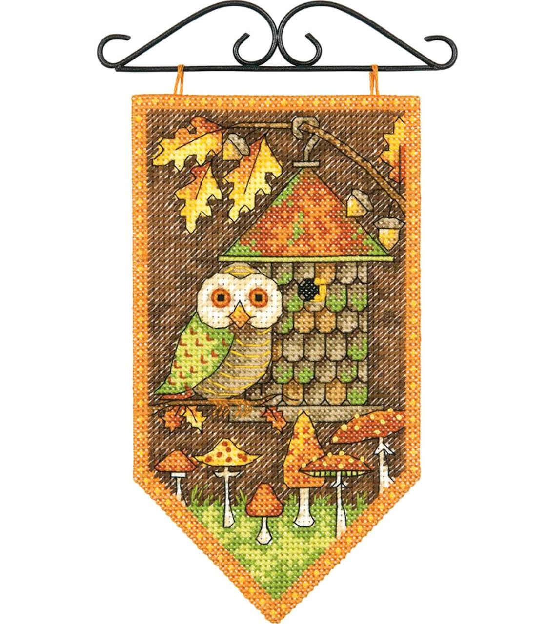 Dimensions / Debbie Mumm - Fall Mini Banner