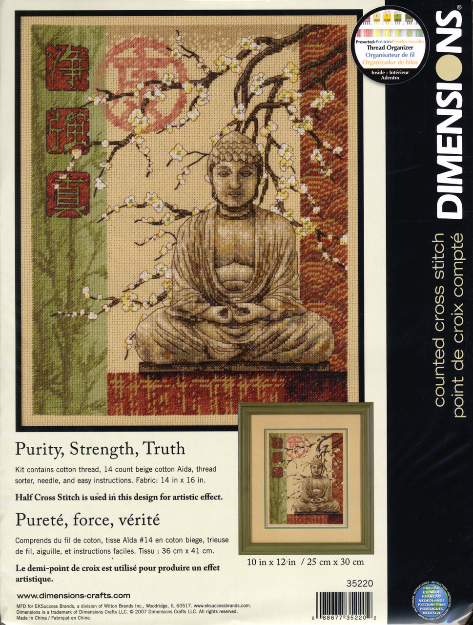 Dimensions Purity Strength Truth Crossstitchworld