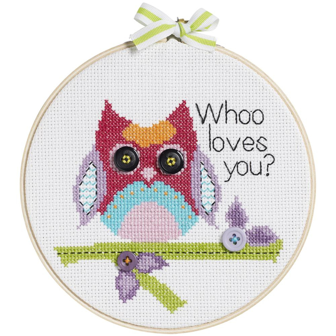 My 1st Stitch - Whoo Loves You?