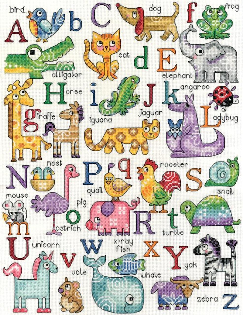Design Works - ABC Animals