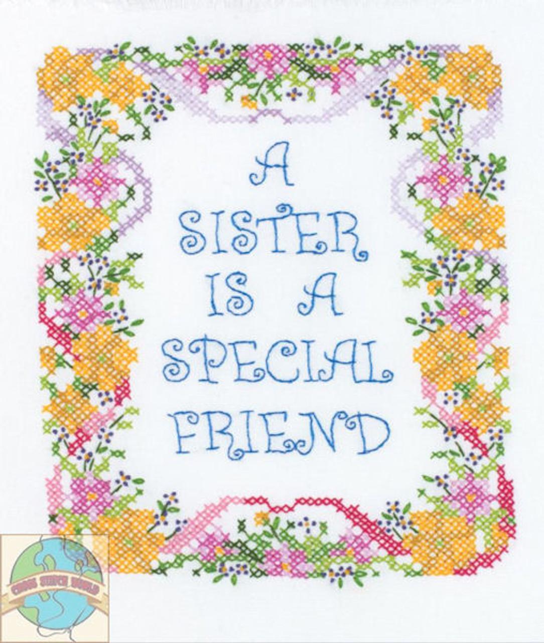 Plaid / Bucilla - Sister