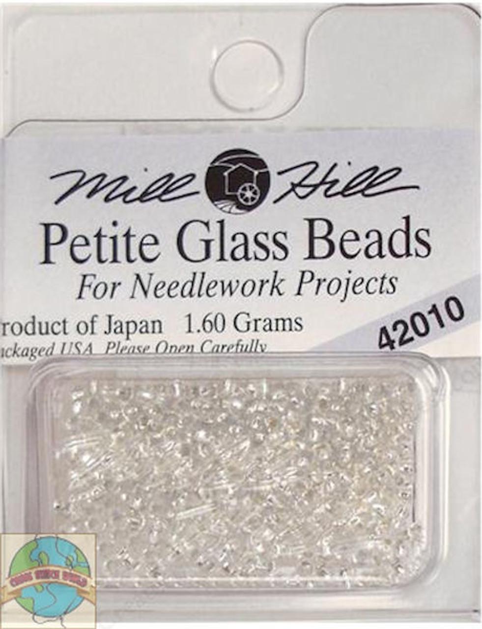 Mill Hill Petite Glass Beads 1.60g Ice