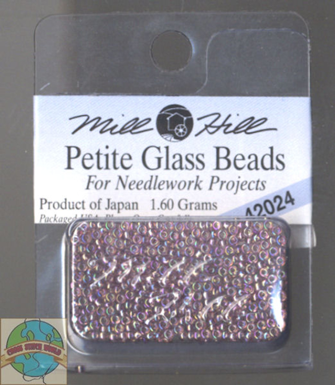 Mill Hill Petite Glass Beads 1.60g Heather Mauve