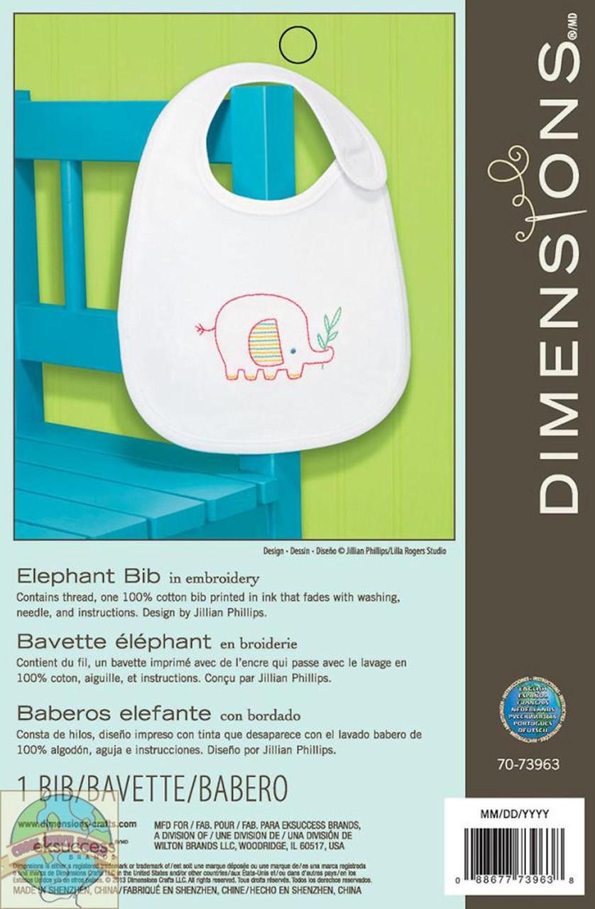 Dimensions - Elephant Bib
