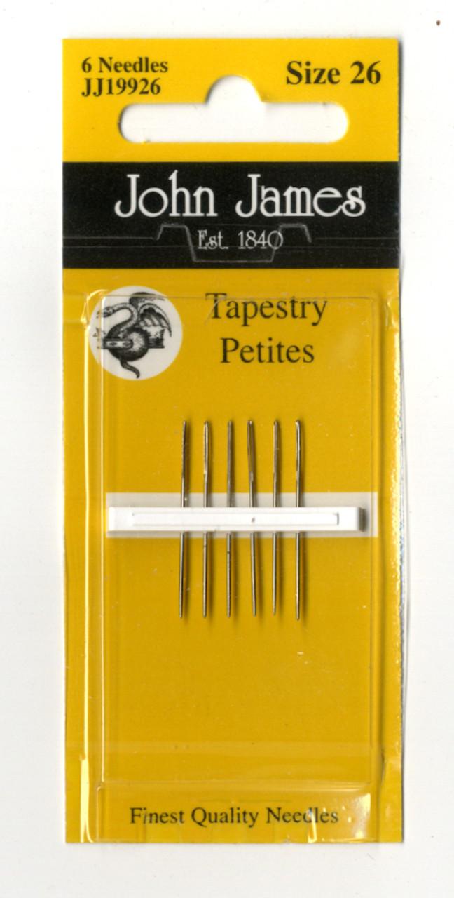 John James - Size 26 Petite Needles