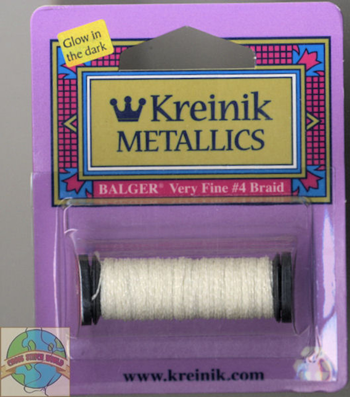 Kreinik Metallics - Very Fine #4 Grapefruit 052F