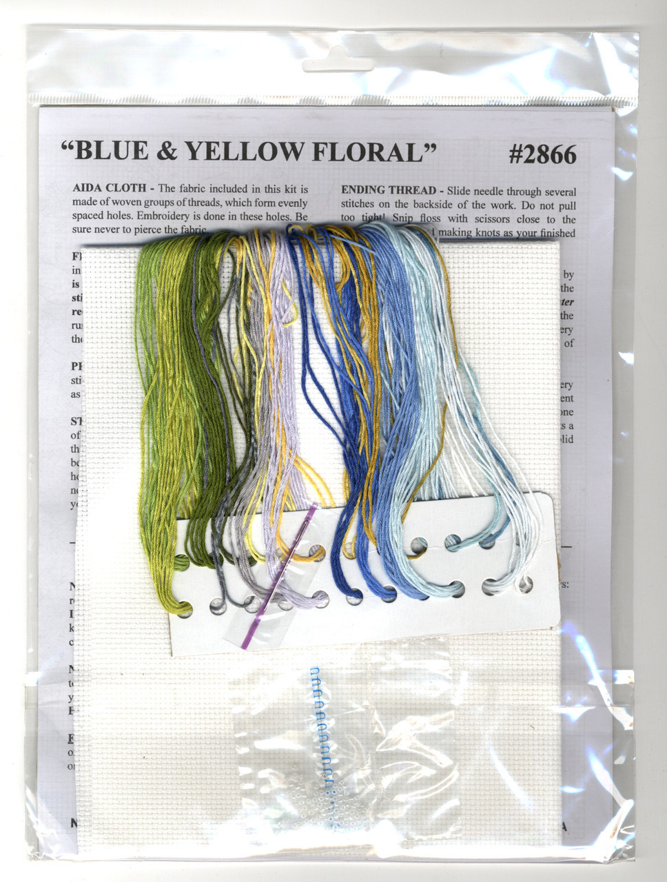 Design Works - Blue and Yellow Floral