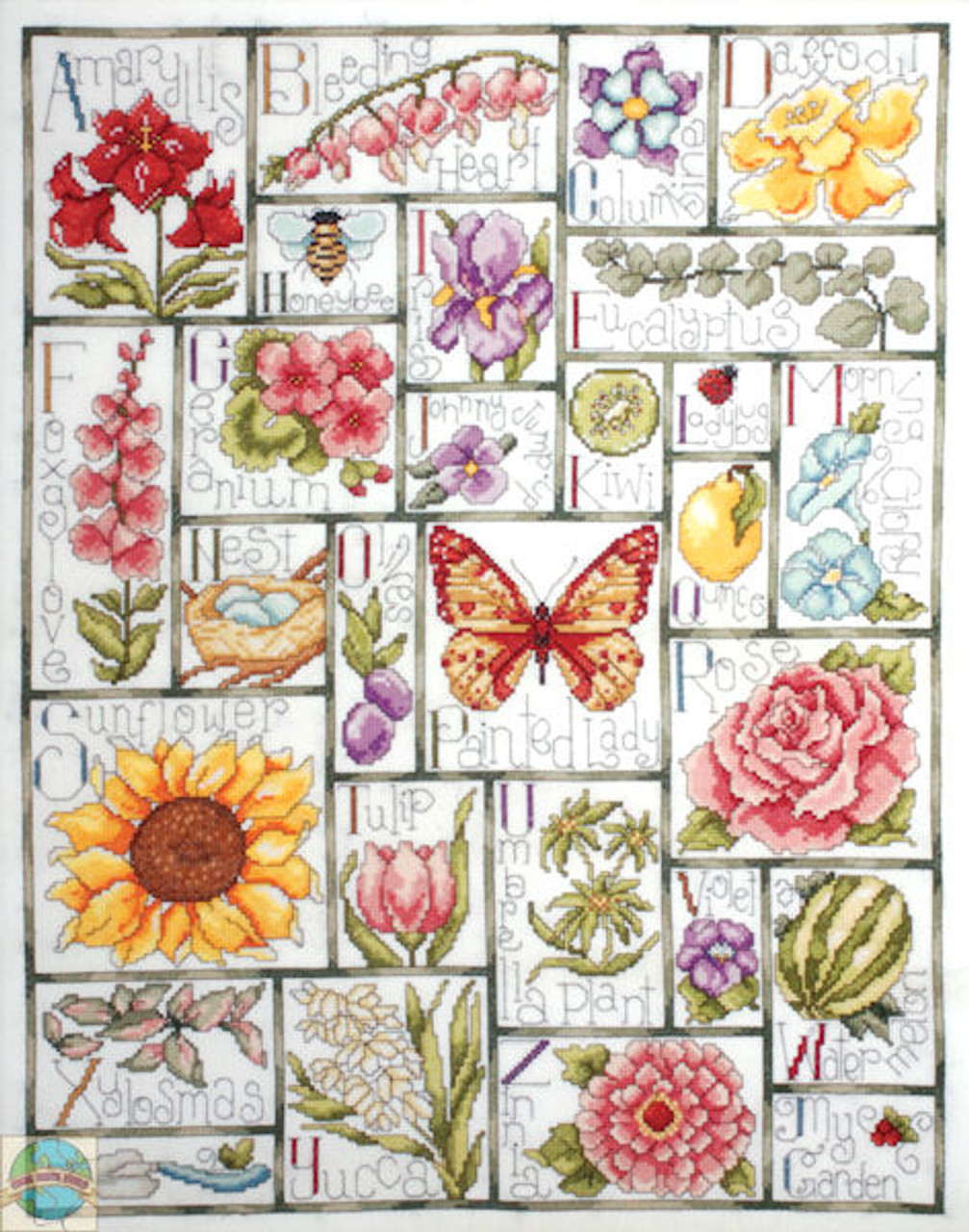 Design Works - Floral ABC