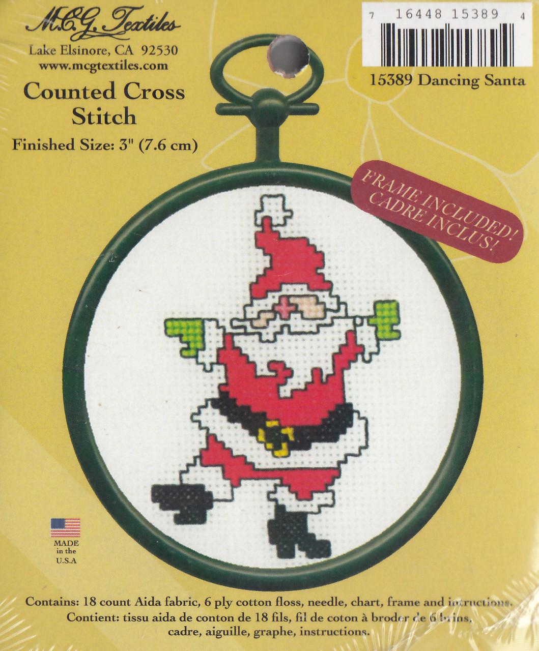 Candamar Mini - Dancing Santa
