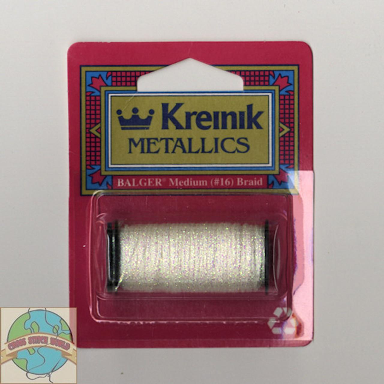 Kreinik Metallics - Medium #16 Pearl 032