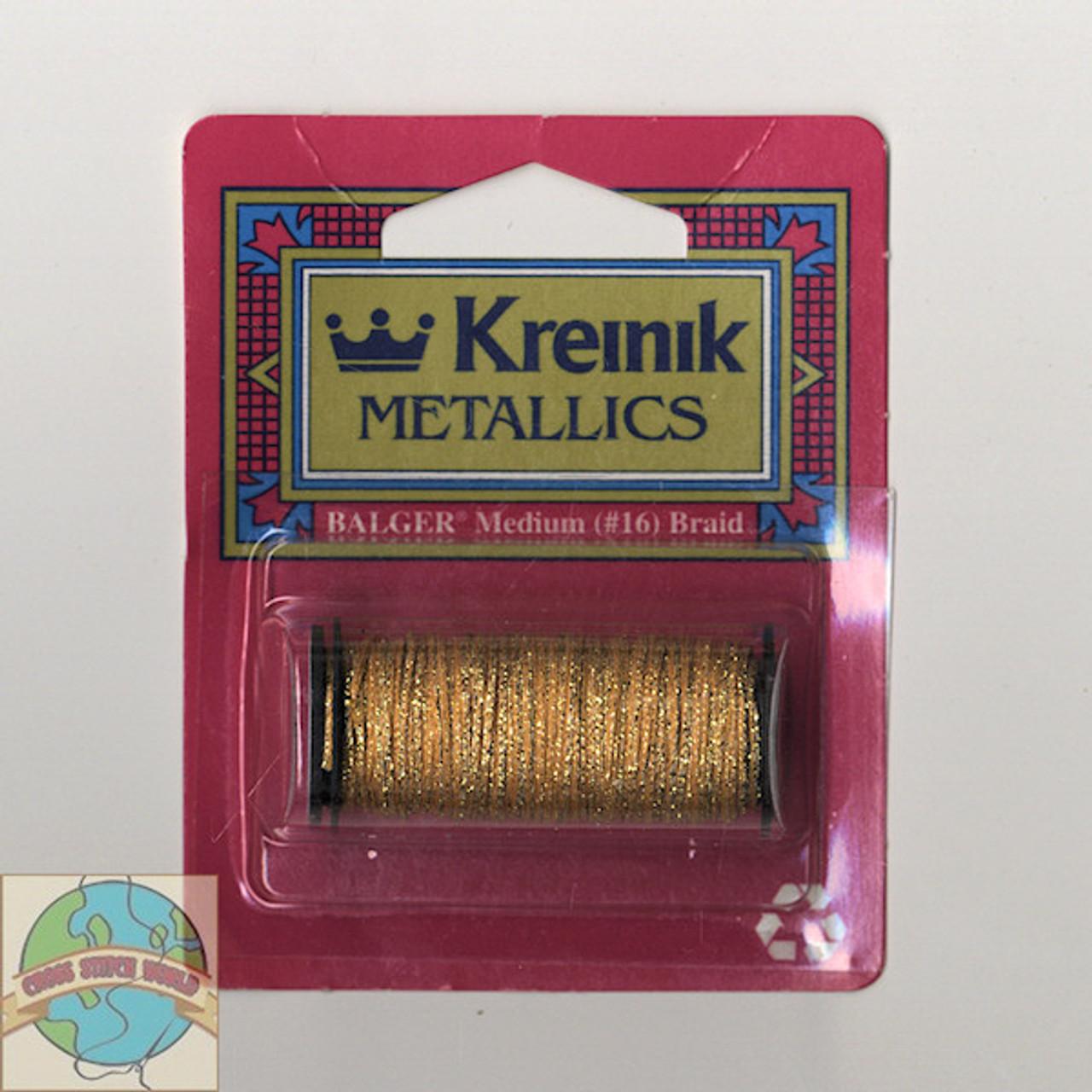 Kreinik Metallics - Medium #16 Golden Cabernet
