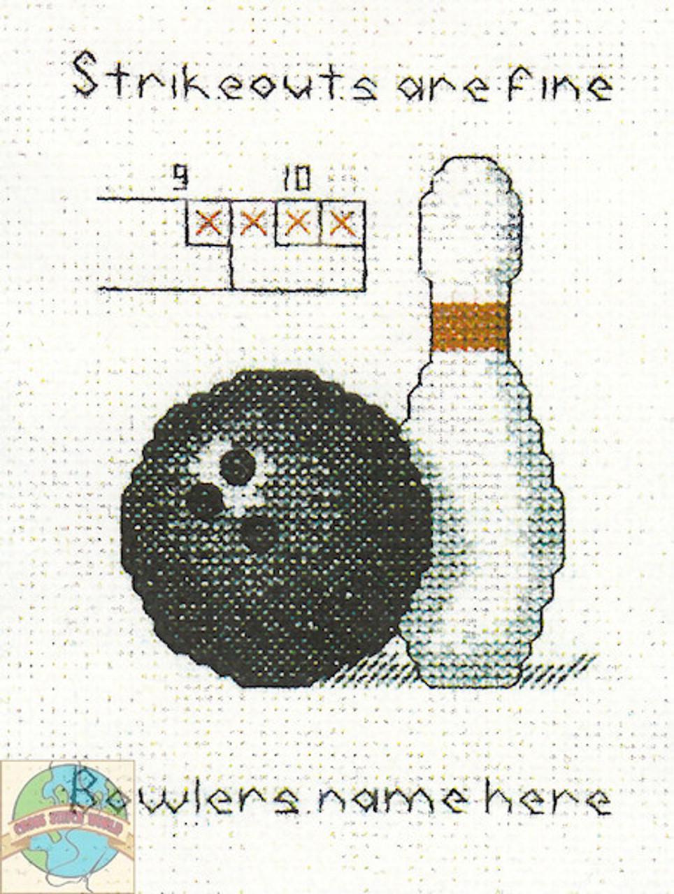 Hilite Designs - Bowling Emblem