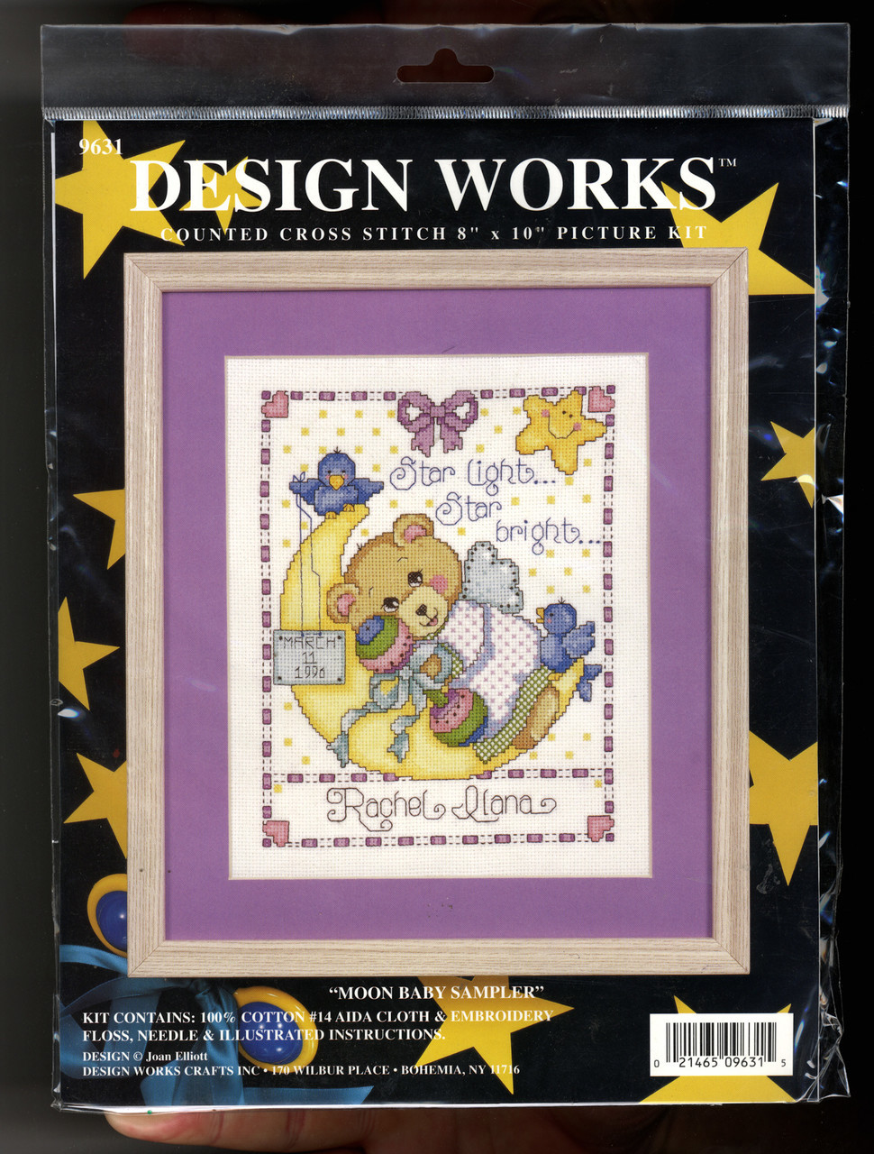 Design Works - Moon Baby Sampler