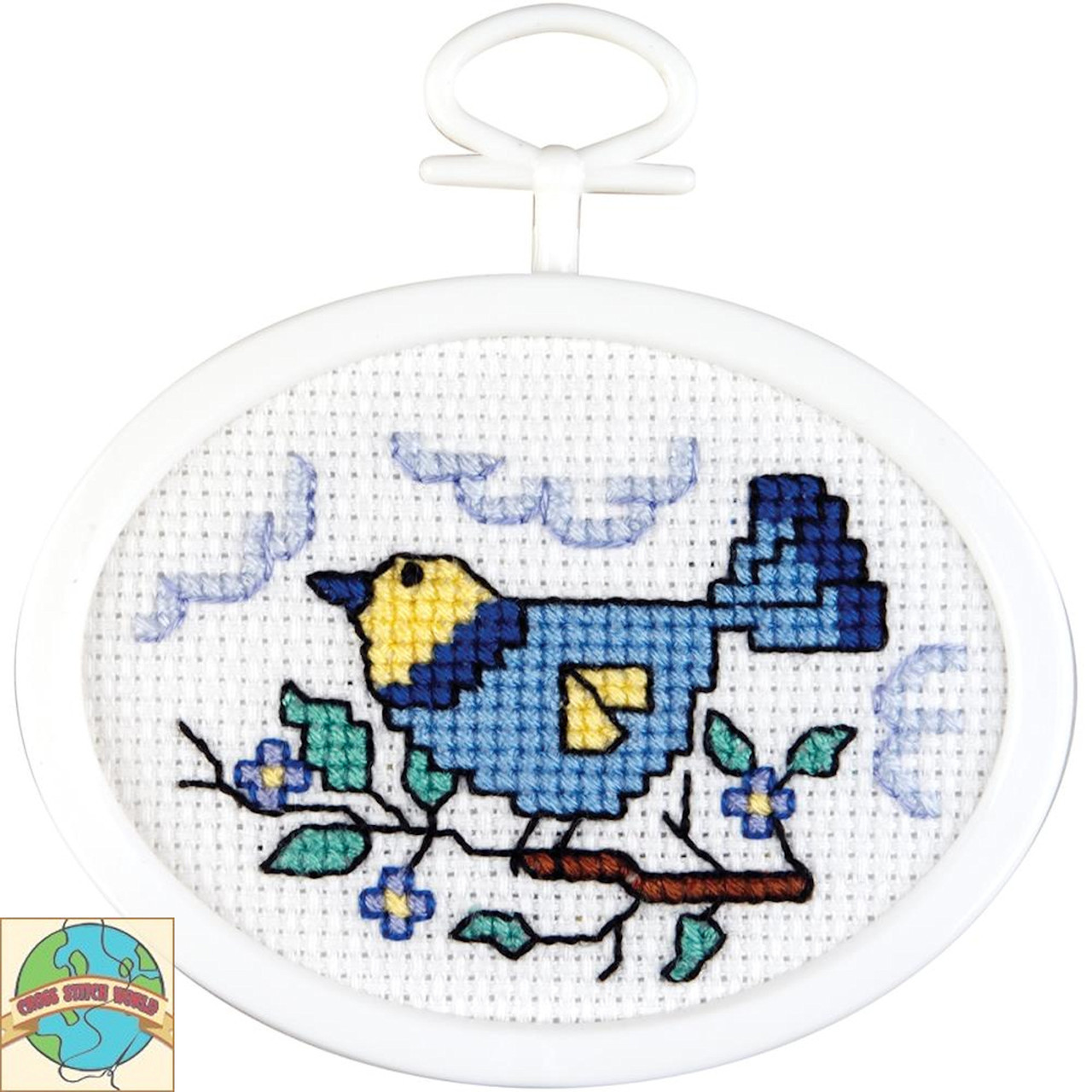 Janlynn Mini - Bird On A Branch
