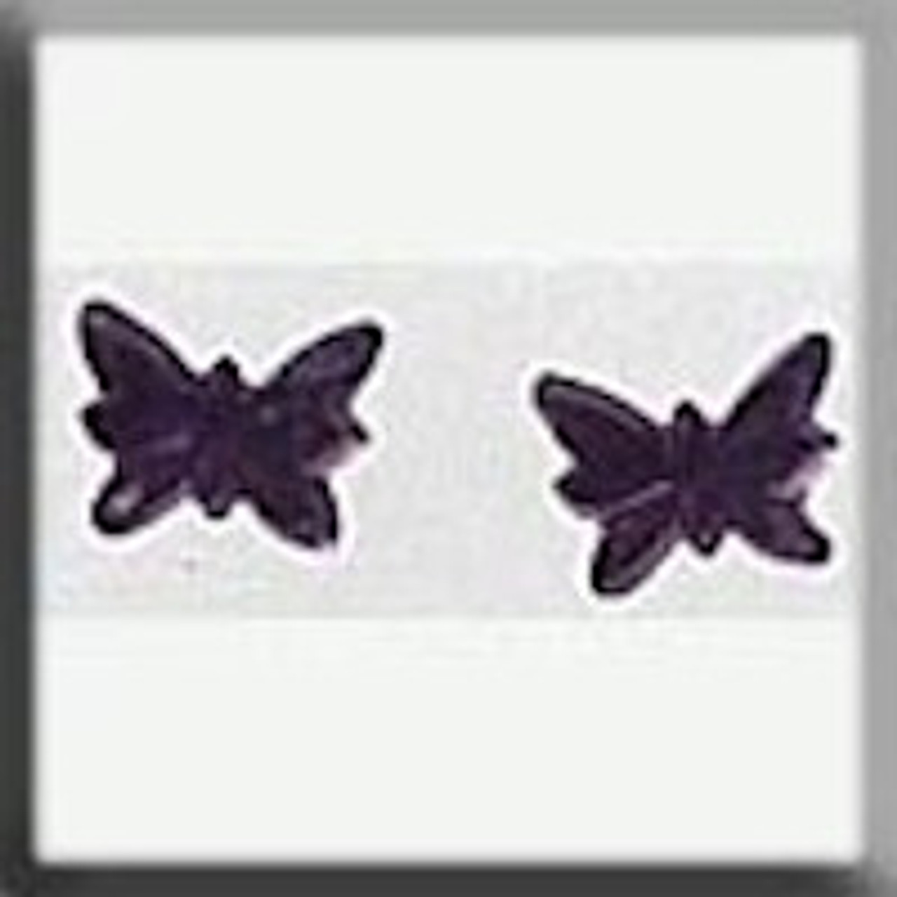 Mill Hill Glass Treasures - Petite Butterfly Matte Light Amethyst