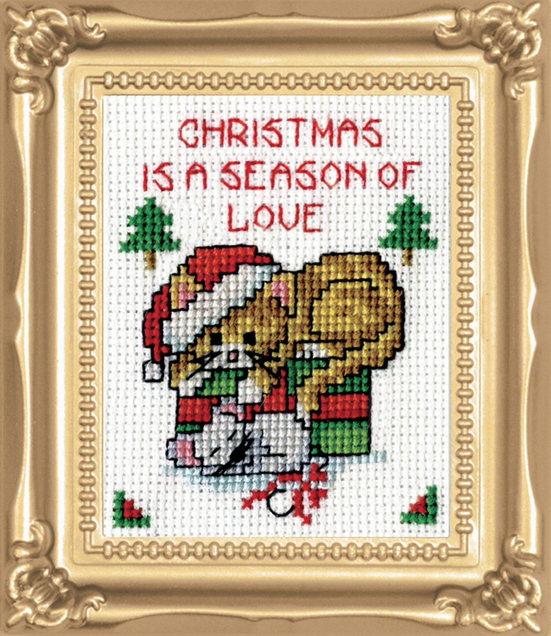 Design Works -  Season of Love Picture Kit w/Frame