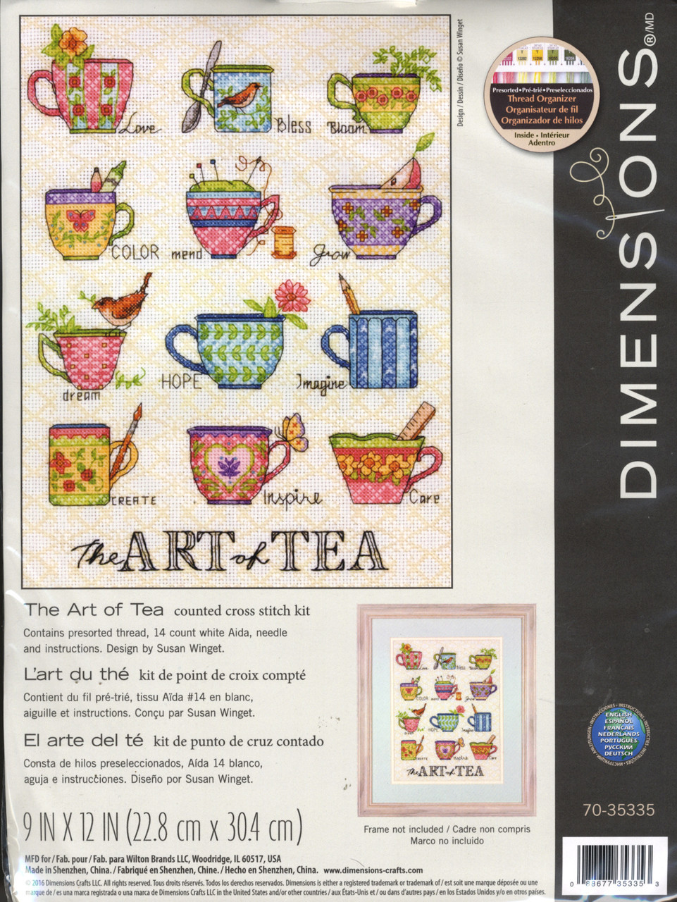 Dimensions - The Art of Tea