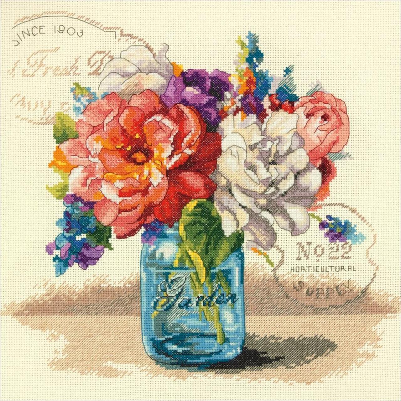 Dimensions - Garden Bouquet