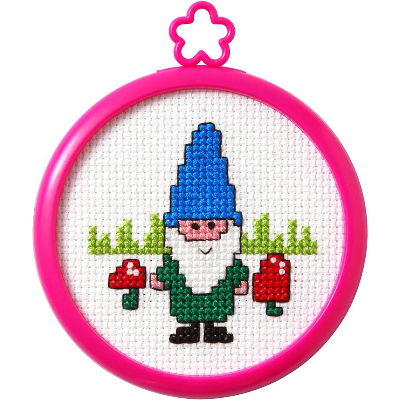 Plaid / Bucilla - My 1st Stitch - Gnome