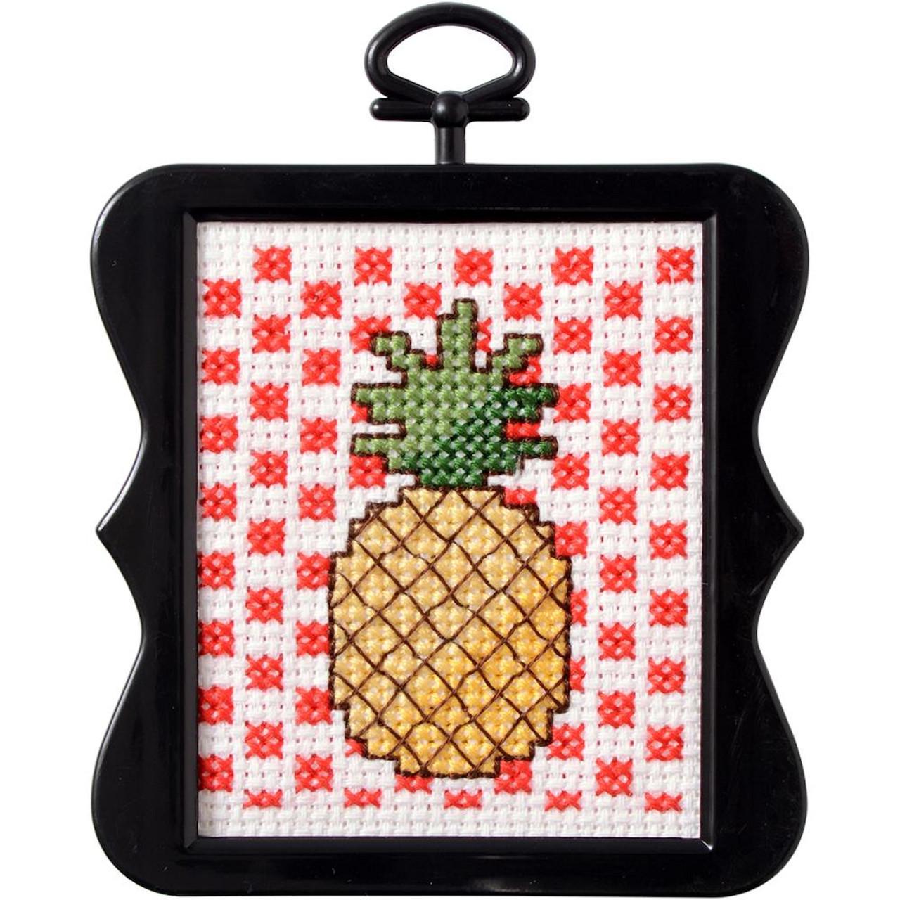 Plaid / Bucilla - Pineapple