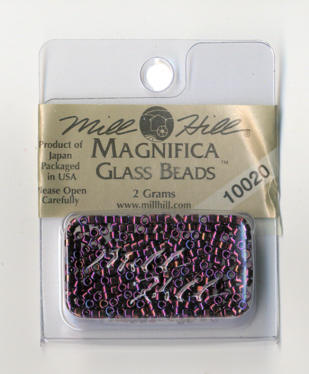 Mill Hill Magnifica Glass Beads 2g - Royal Amethyst #10020