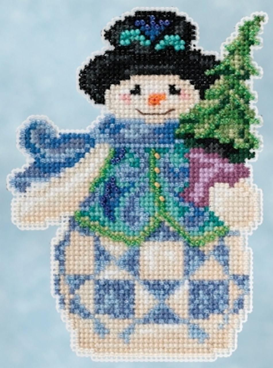 Mill Hill / Jim Shore - Evergreen Snowman
