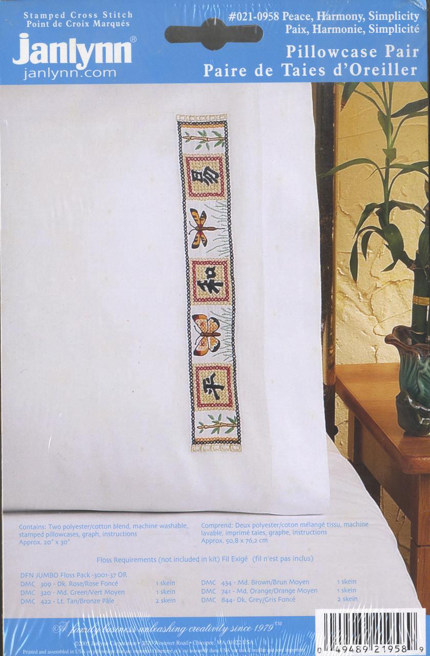 Janlynn - Peace, Harmony, Simplicity Pillowcases