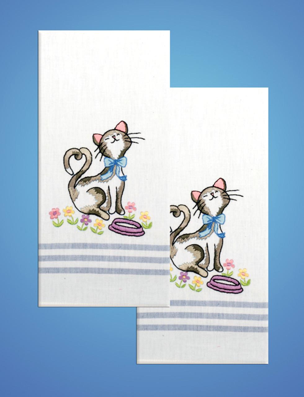 Design Works - Cat Towels (2)