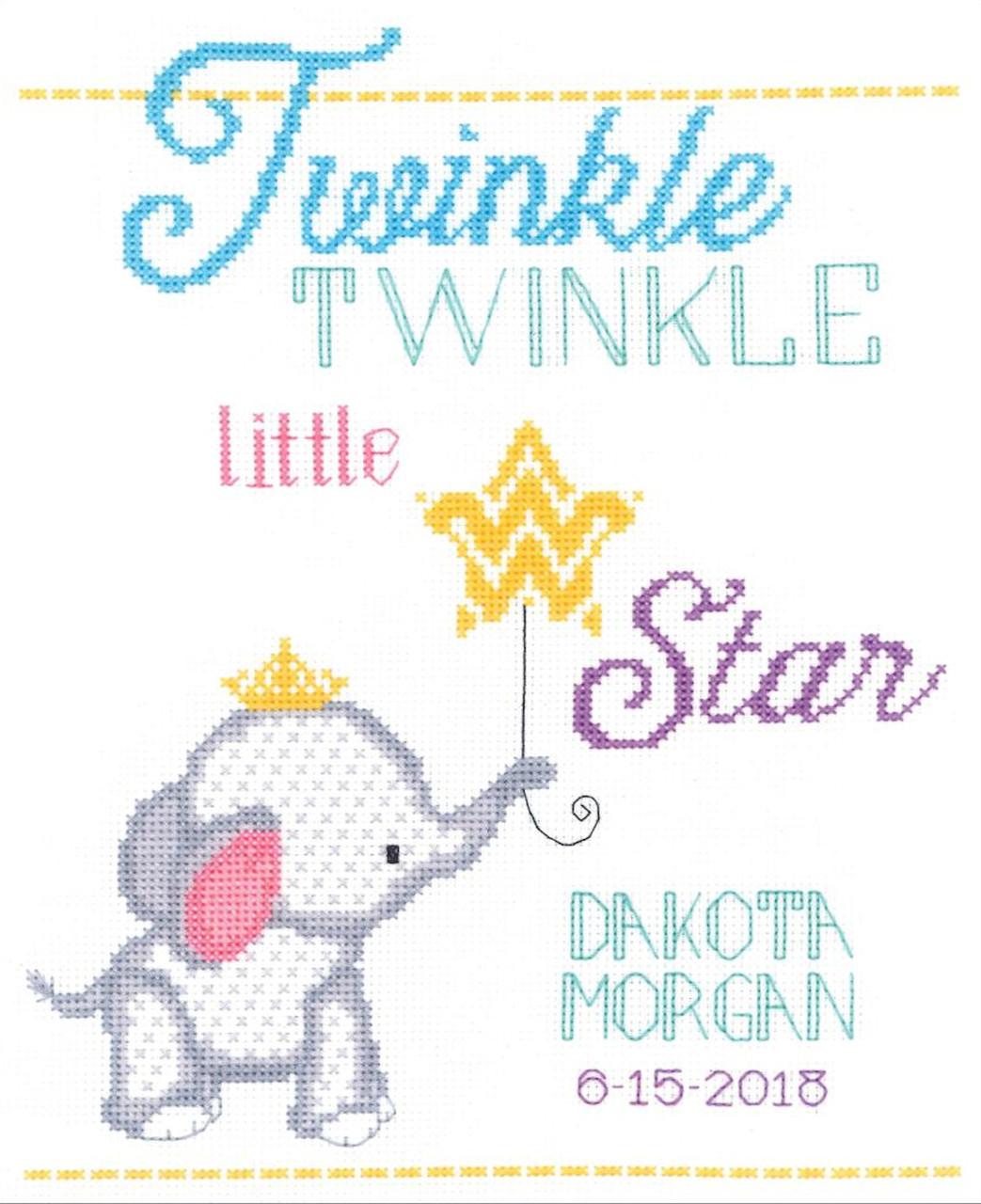 Janlynn - Twinkle Twinkle Little Star Birth Announcement