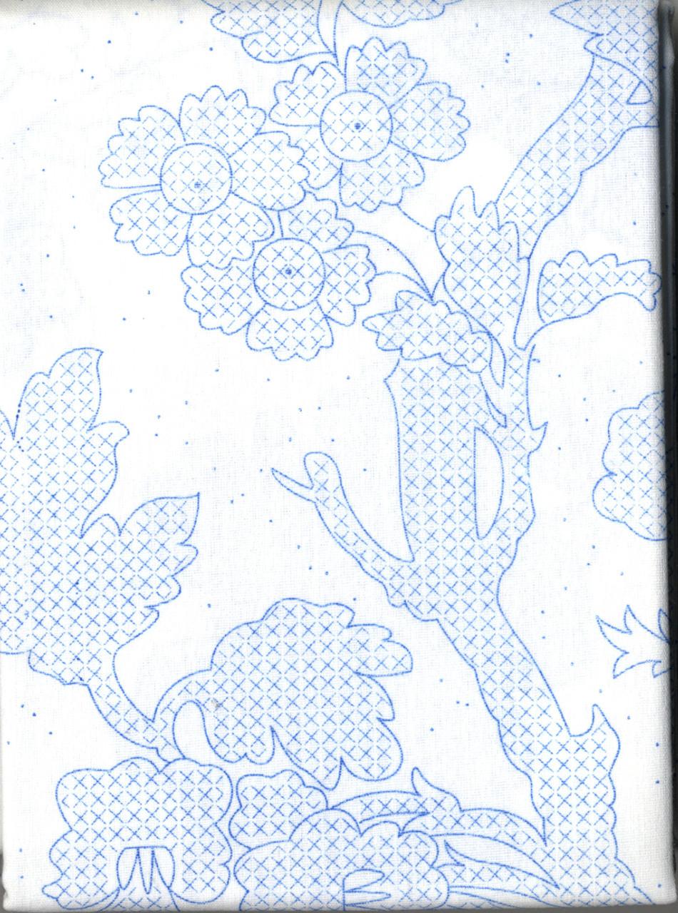 Plaid / Bucilla - Waverly Charleston Chirp Quilt Blocks (6)