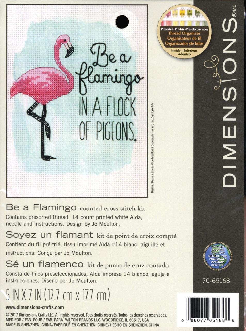 Dimensions - Be a Flamingo