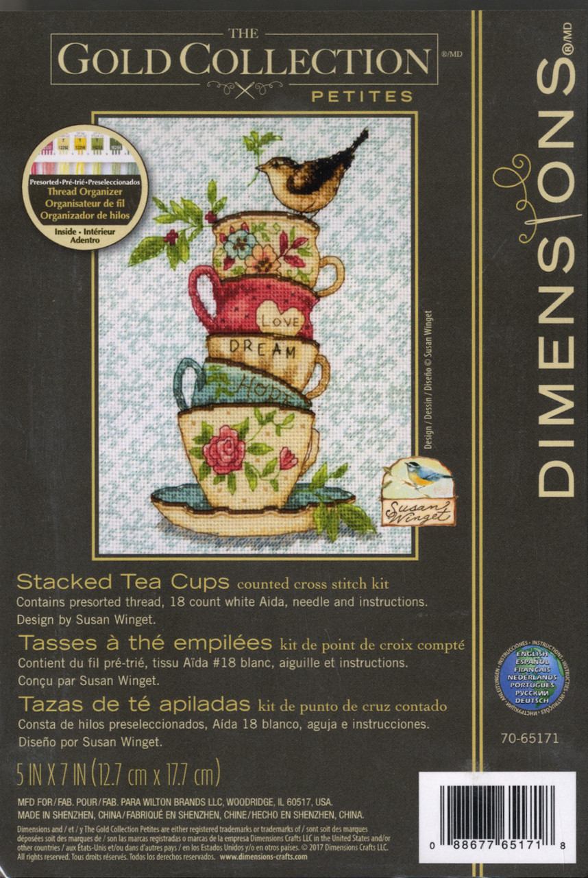 Gold Collection Petites - Stacked Tea Cups