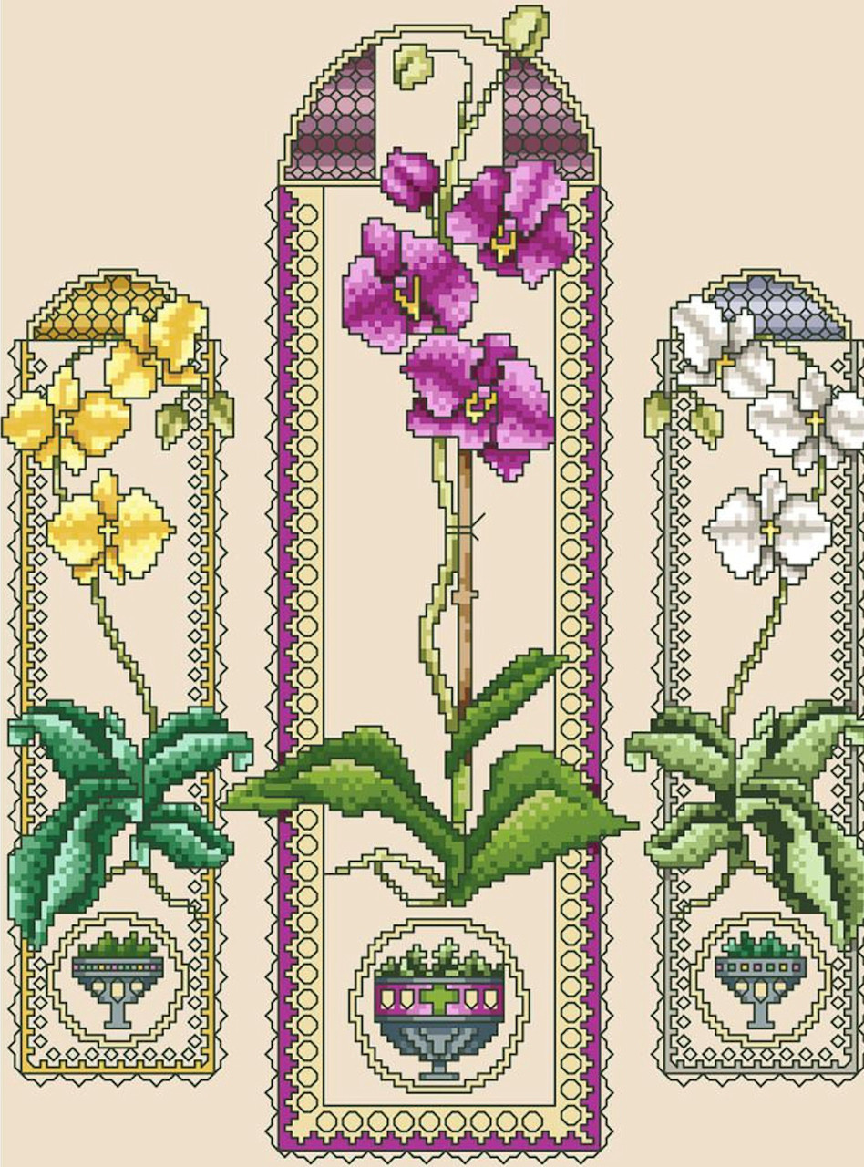 Vickery Collection - Orchid Trio