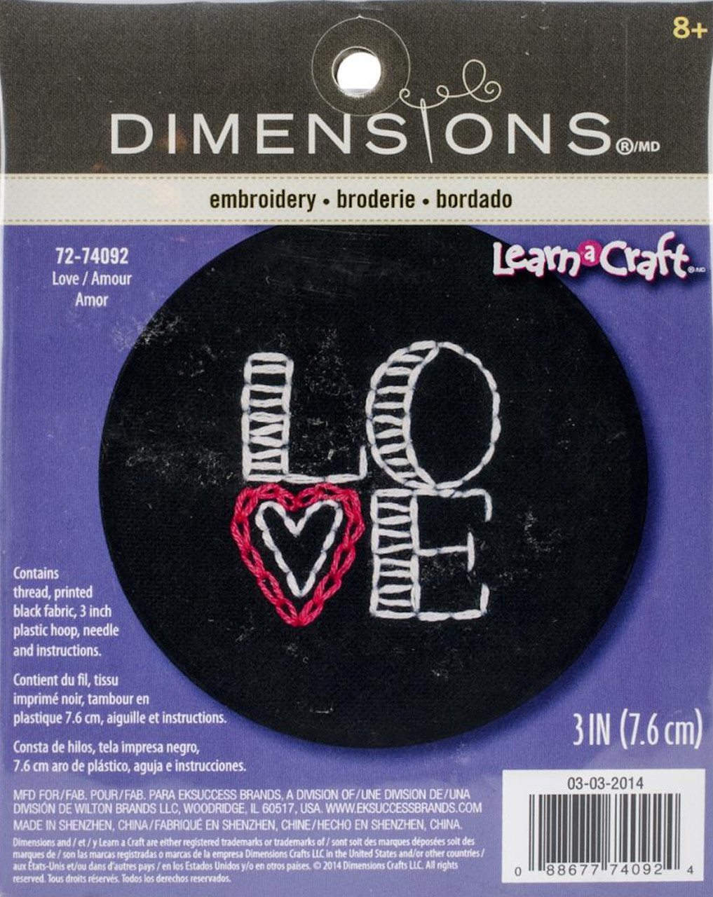 Dimensions Learn a Craft - Love