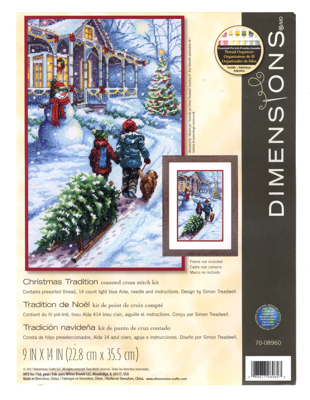 Dimensions -  Christmas Tradition