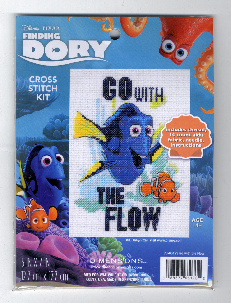 Dimensions - Disney Finding Dory Go with the Flow