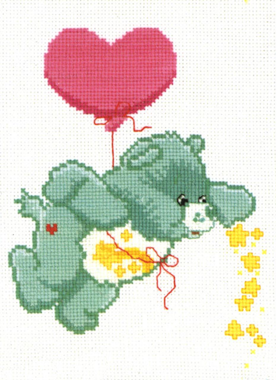 Candamar / Care Bears - Wish Bear Ballooning