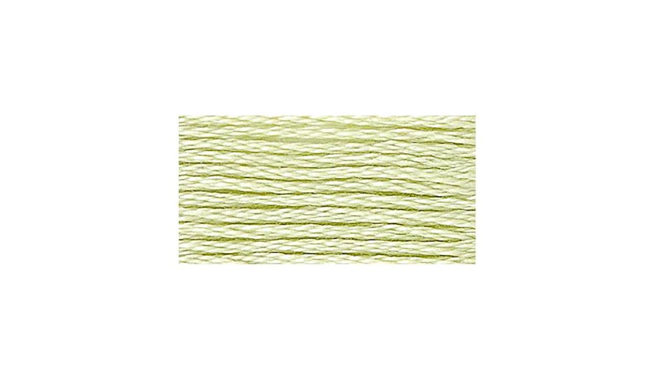 DMC # 14 Pale Apple Green Floss / Thread