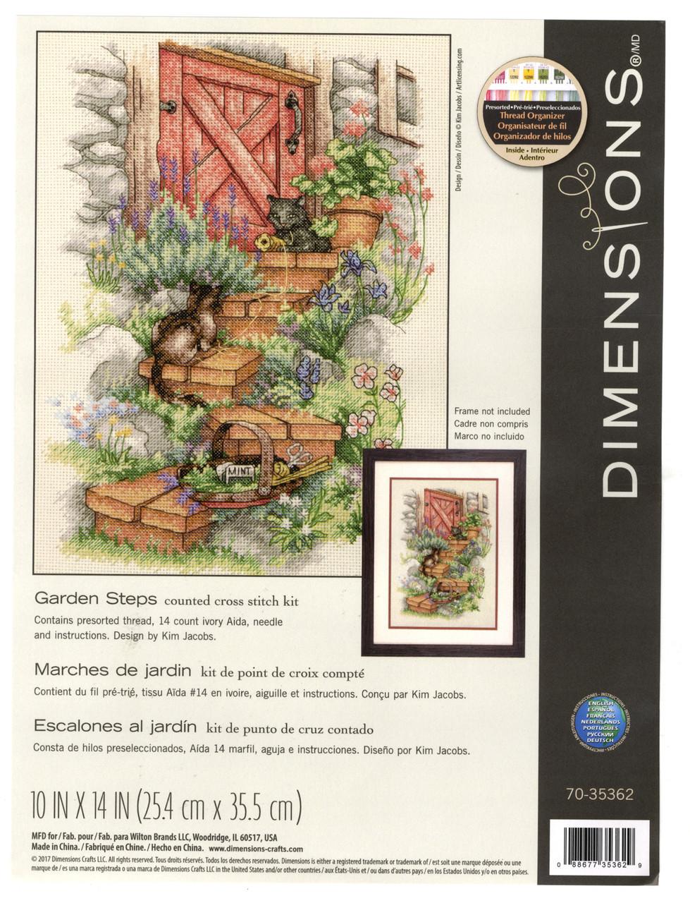 Dimensions - Garden Steps