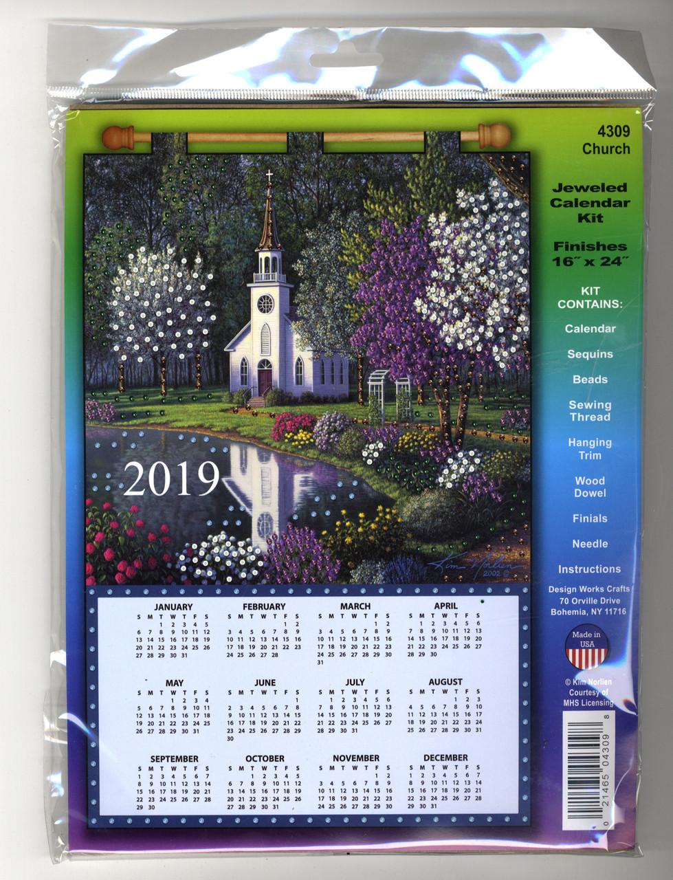 Design Works - Church 2019 Calendar